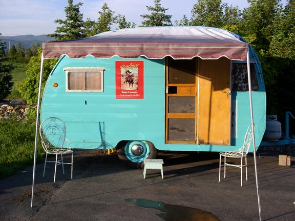 Vintage Travel Trailer Blue Book