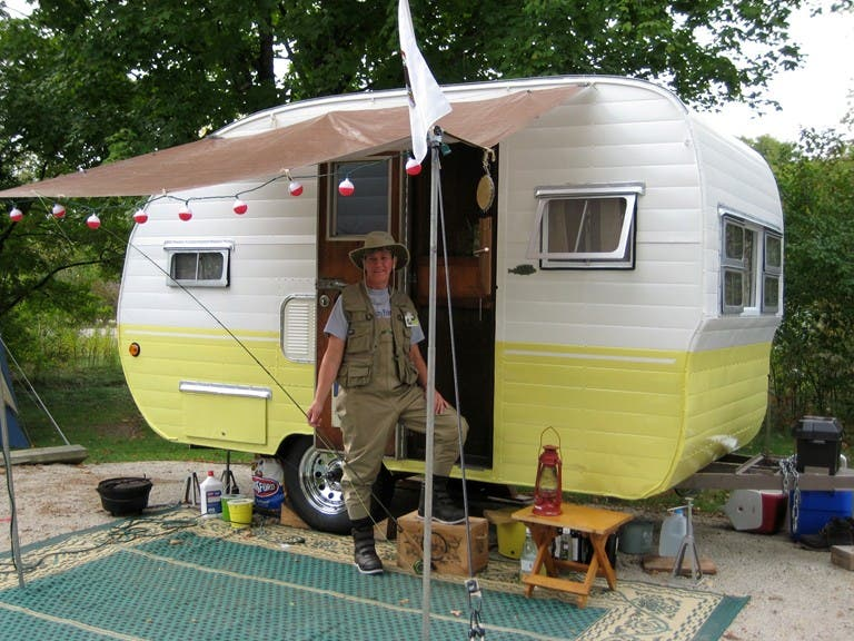 Tiny Camping Trailers small camping trailer the impetus of the small trailer enthusiast Howdy Ladies