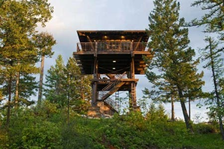 Montana Fire Tower Retreat
