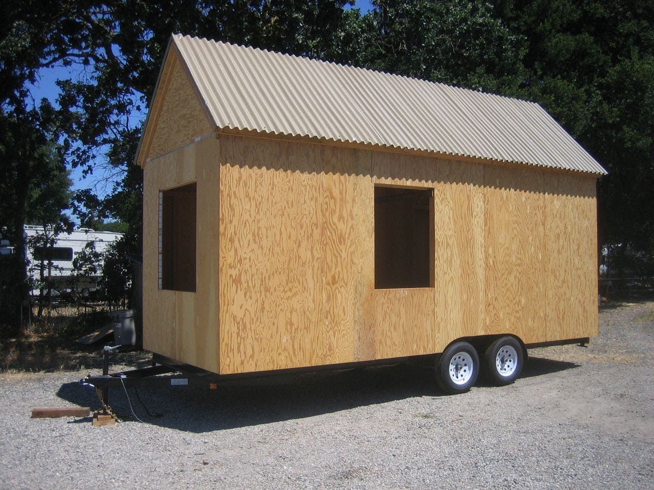 Sonoma shanty to go for Stick built home kits