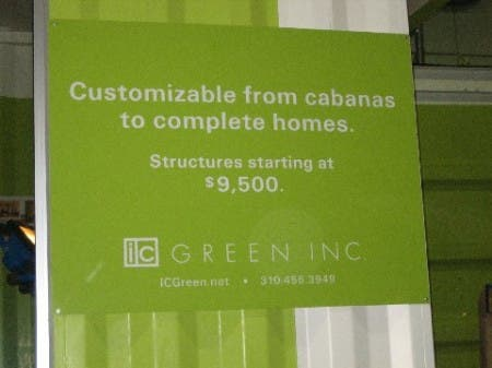 IC Green Inc. Sign