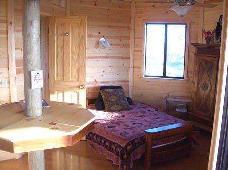 Baja Yurt Interior