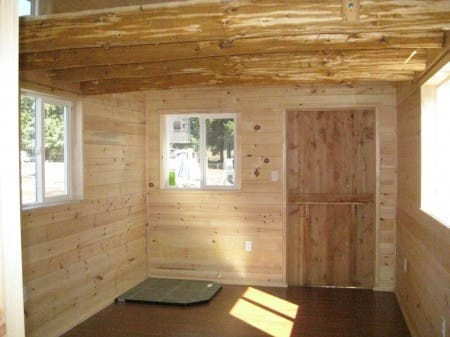 Finished Log Loft