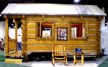 Portable Cabin at the Show