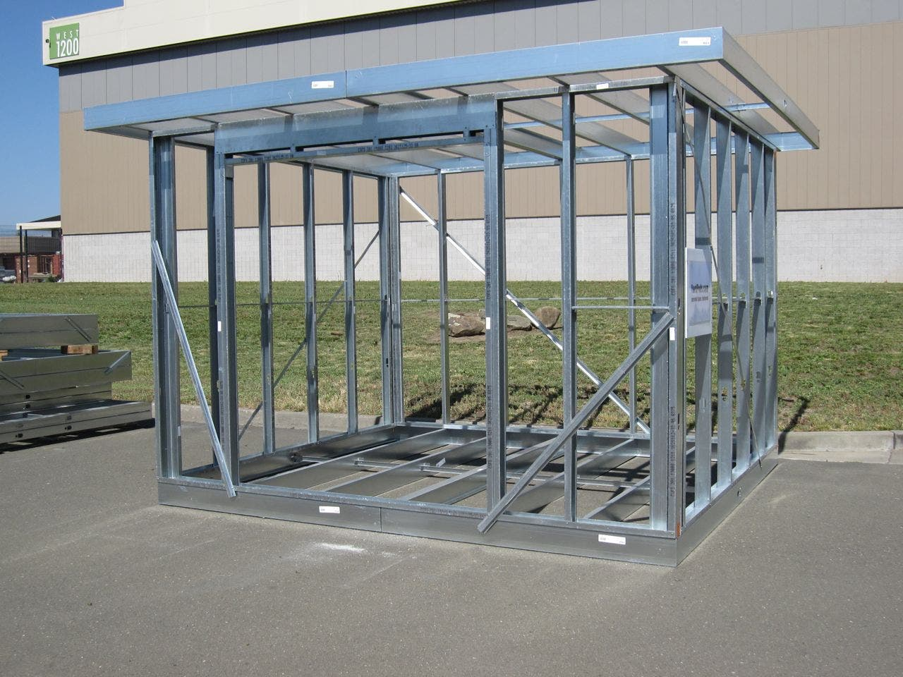 Home ideas Metal frame home plans