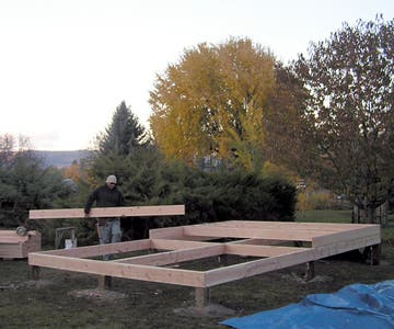Keith and flooring joists
