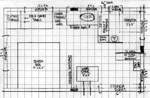 Dream House Blueprints on Tiny House Blog   Archive Tiny House In Idaho