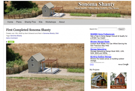 sonoma_shanty_website