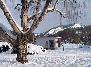Tiny House in Winter