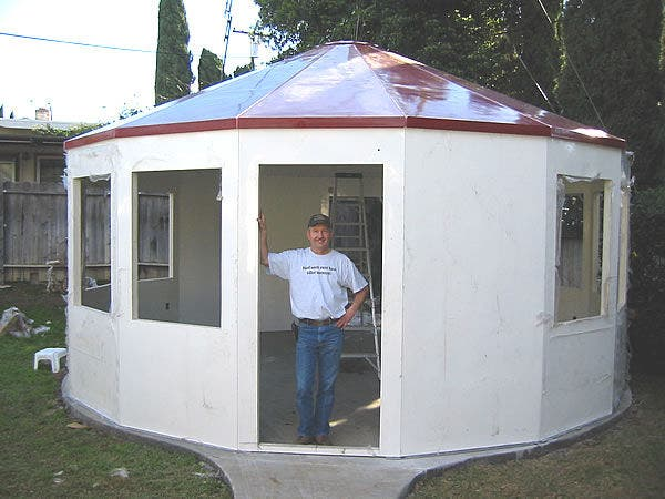 Alternative Building's Fiberglass Yurt