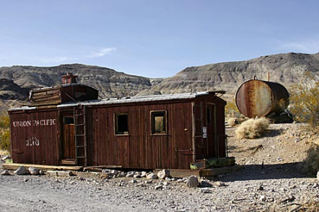 Caboose House, Rhyolite Nevada