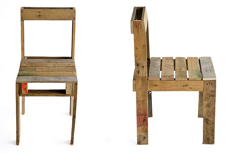 Pallet Chairs: what are chairs made of