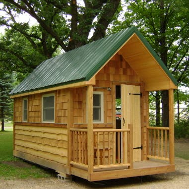 Home Design on The Wildflower Cabin Is 120 Square Feet And Built With Green Certified