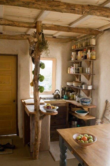 Cob House Kitchen