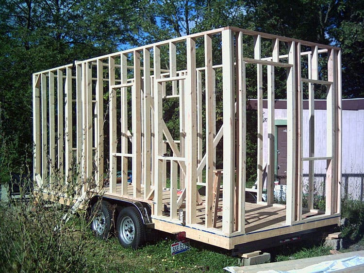 ericks tiny house recording studio there - Tiny House Mobile
