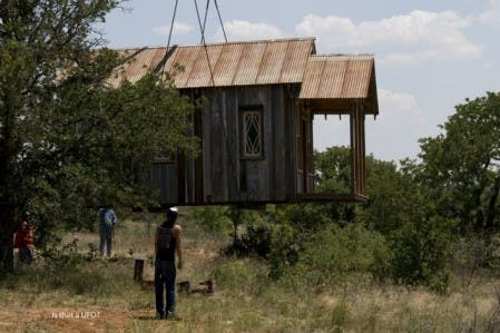 Texas Tiny House Landing