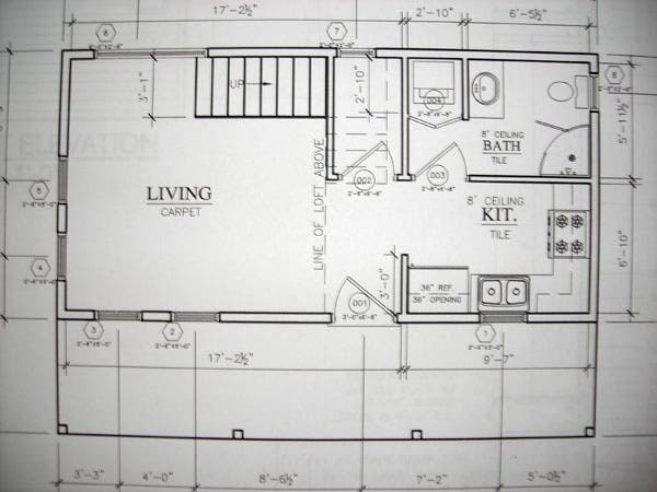 Mountain cabin floor plans floor plans for Hunting cabin floor plans free