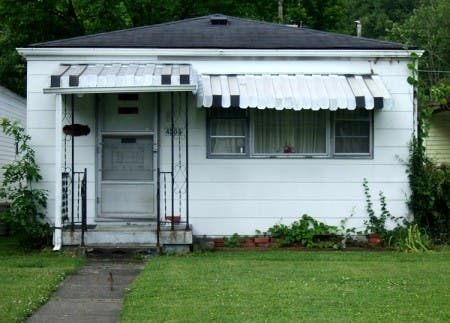 This little bungalow is probably the closest to an original