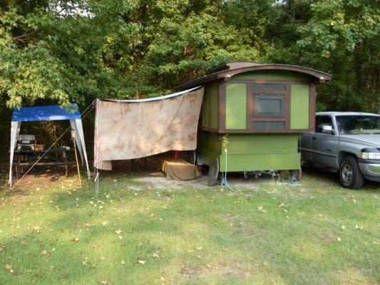 living in a vardo