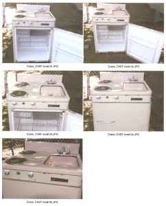 vintage kitchenette units