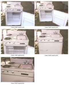 Vintage Kitchenette Units