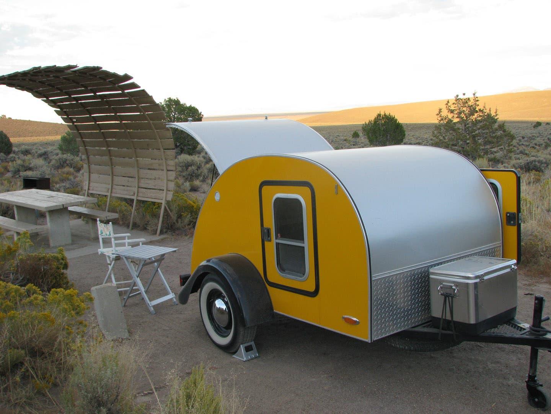 Saplans: Homemade teardrop camper plans