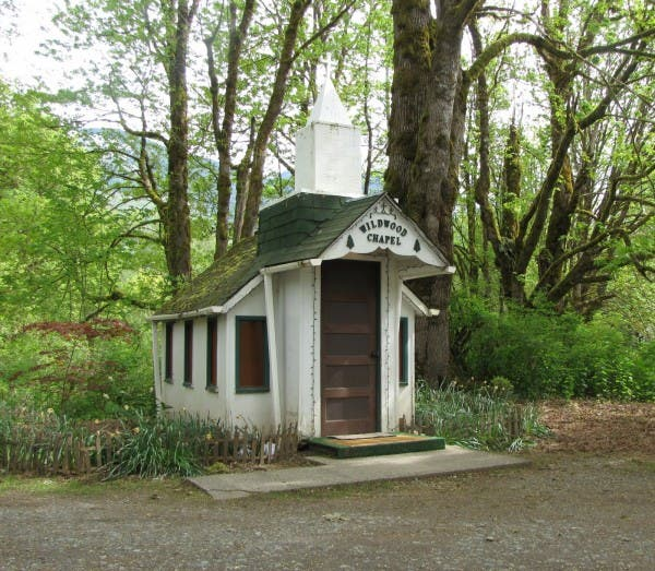 Wildwood Chapel, Marblemount, WA. Courtesy of Day4Plus.