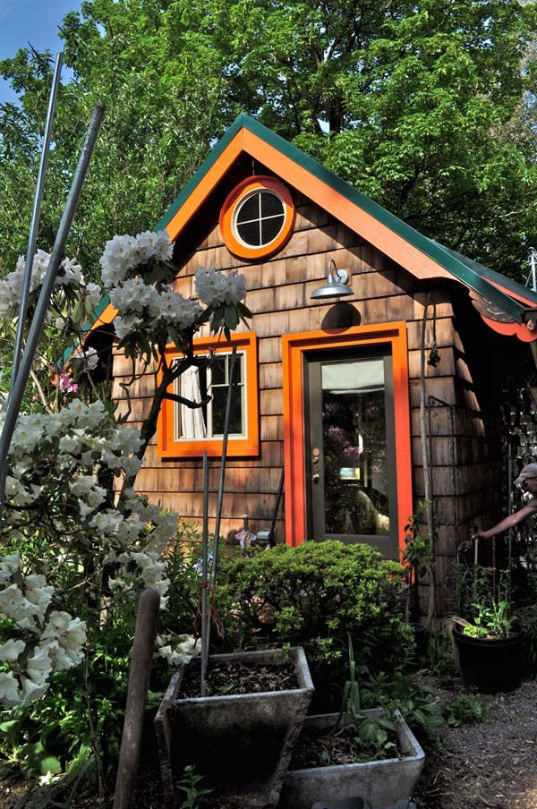 portland tiny homes reused and recycled