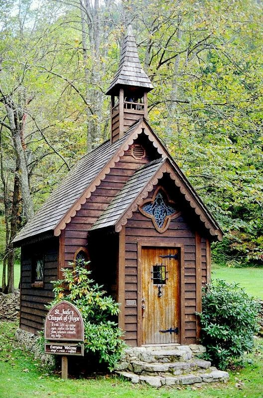 St. Judes Chapel of Hope, NC. Courtesy of docjen27.