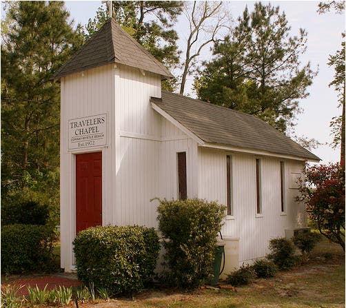 Traveler's Chapel, Conway, SC. Courtesy of JacobK.
