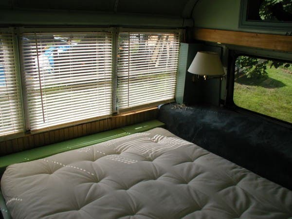 bus bedroom