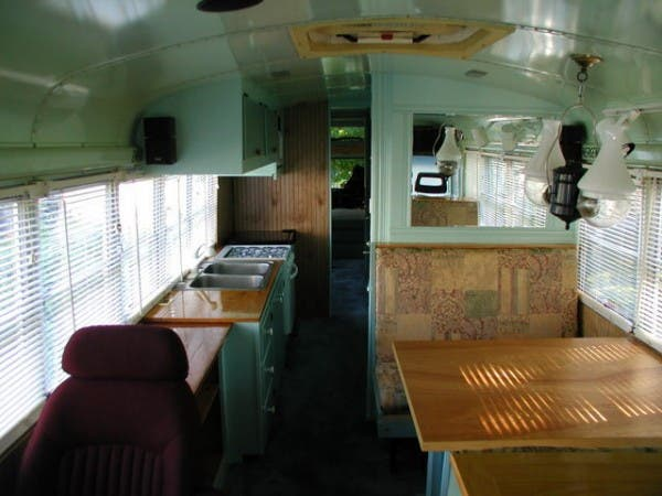 bus living area