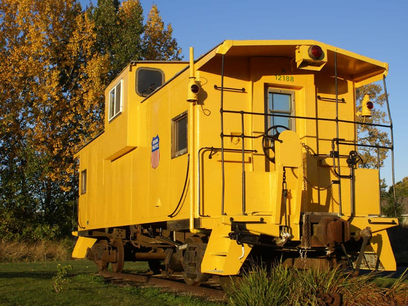 the caboose, Tiny Houses/