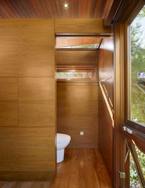 Tree House Bathroom an atypical tree house via dwell