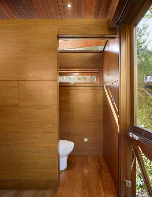 Tree House Bathroom an atypical tree house via dwell