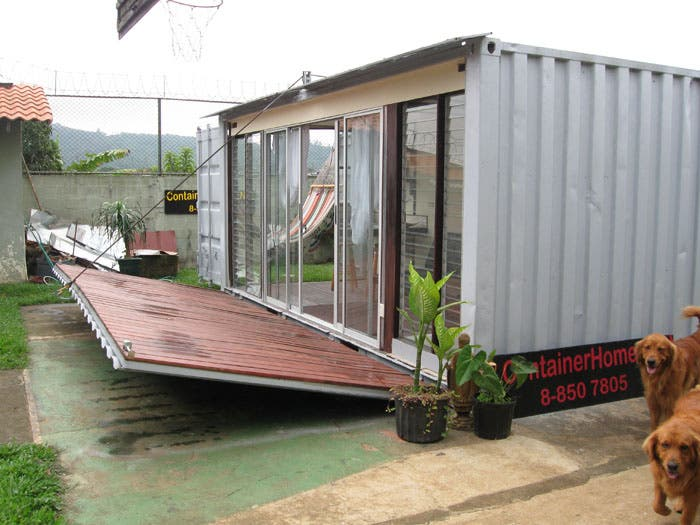 Jimmy 39 s container home update for Container home designs australia