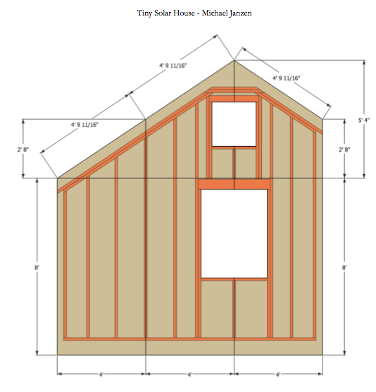 solar house framing - Tiny House Framing 2