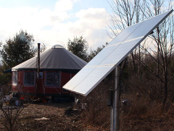 I discovered ... & Yurt Living in Upstate New York