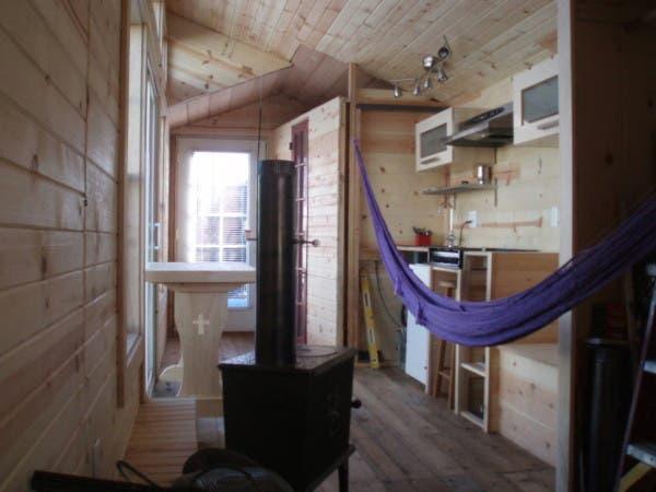 Mike Irish 39 S Passive Solar Cottage