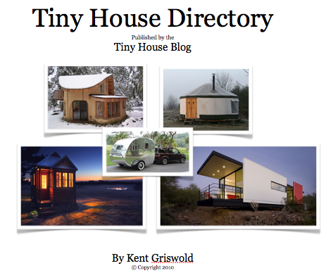 Tiny House Directory and Newsletter