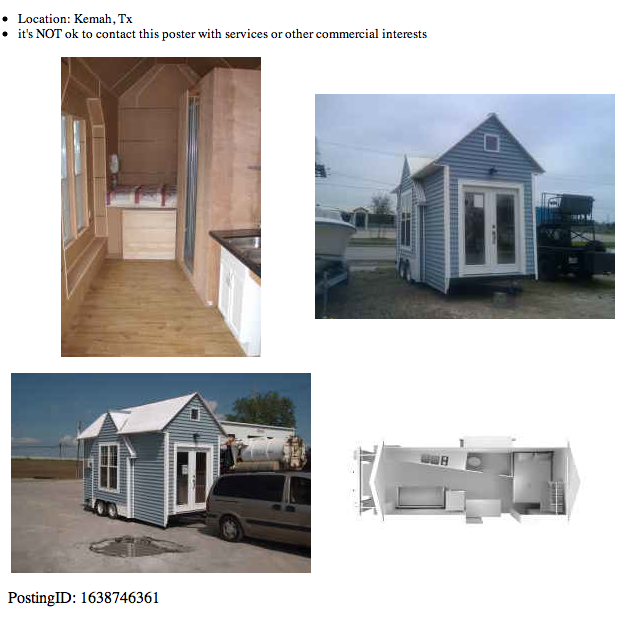 Tiny Home Designs: RV Park Model Cottage For Sale In Texas