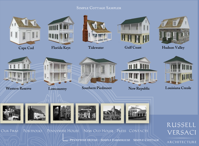 Russell Versacis Simple Cottage Plans