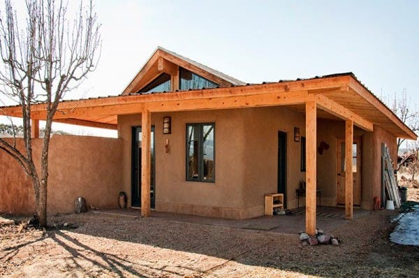 Rina swentzell 39 s adobe house - How to build an adobe house ...