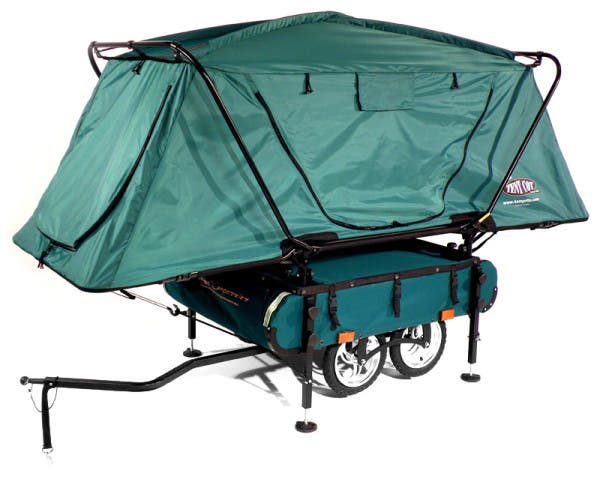 This one-of-a-kind pivoting wheel set and alloy wheels make for a comfortable ride over most terrain.  sc 1 st  Tiny House Blog & Midget Bushtrekka Bicycle Shelter