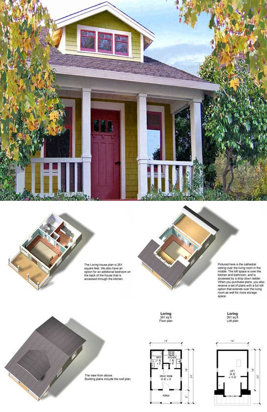 Tiny Home Designs: Tumbleweed Loring Plans On Sale