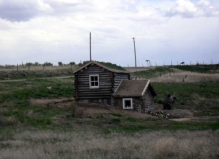 Idaho dugout house for Building a house in idaho