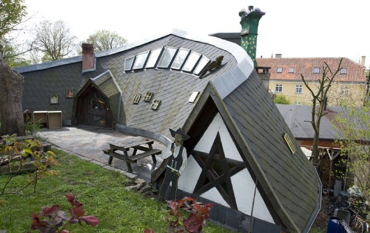 The Tiny Houses Of Christiania