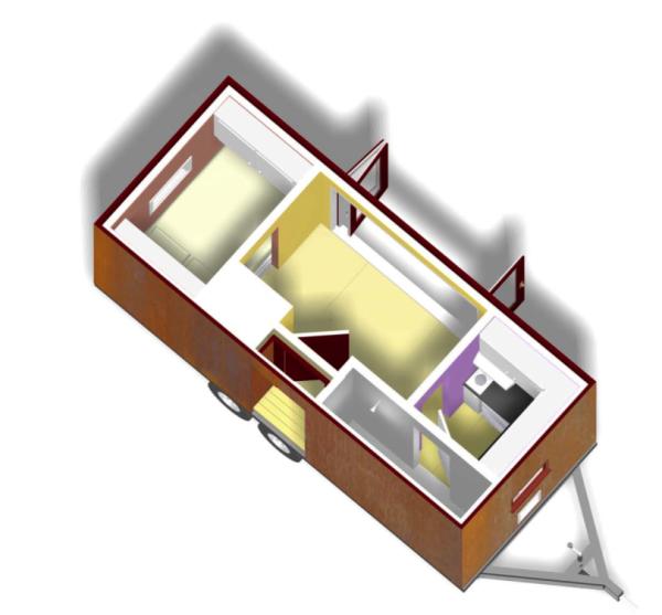 Tiny Home Designs: Free Tumbleweed Popomo Plans