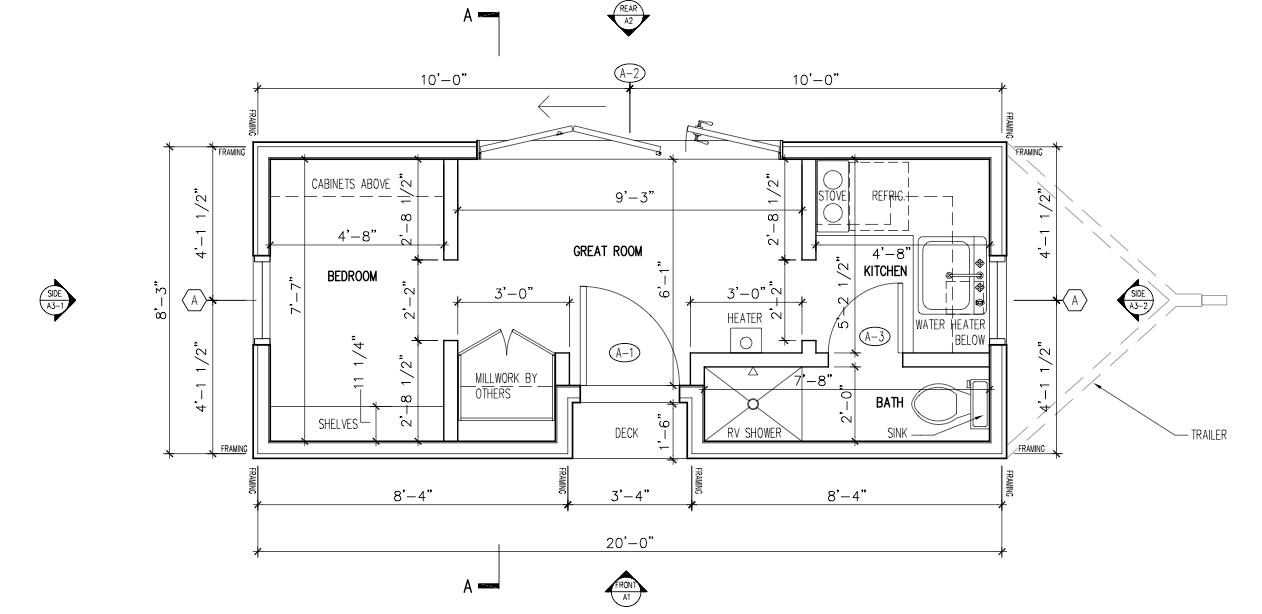 Popomo 2 tiny house blog for Stick built home plans