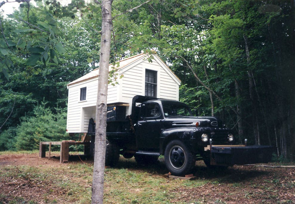 how to build a house truck